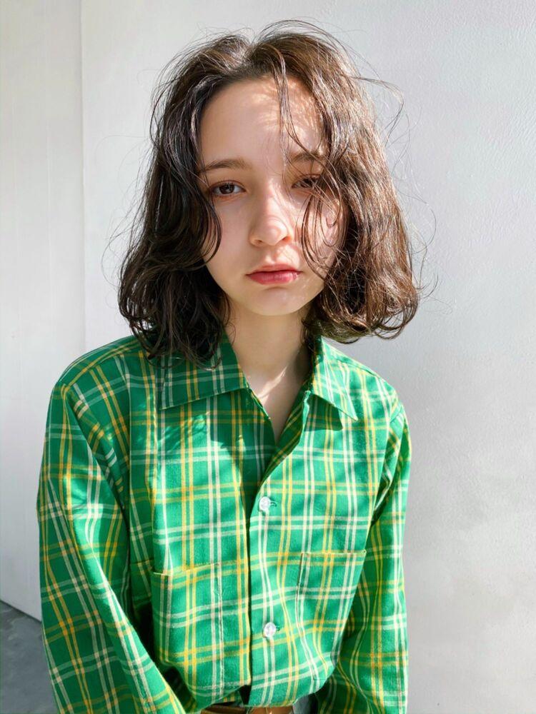 ⦅vicca'ekolu高松⦆⦅ウェーブボブ×シアーグレージュ⦆、明治神宮前駅徒歩5分