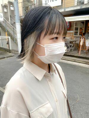 ⦅vicca'ekolu高松⦆⦅インナーカラー×シルバーホワイト⦆、明治神宮前駅徒歩5分