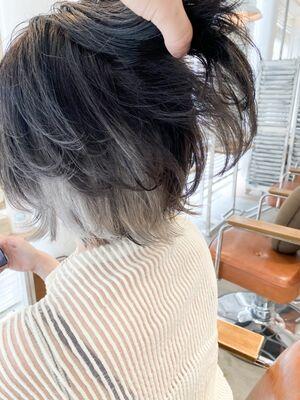 ⦅vicca'ekolu高松⦆⦅インナーカラー×グレーシルバー⦆、明治神宮前駅徒歩5分