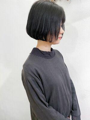 ⦅vicca'ekolu高松⦆⦅ブルーブラック×レトロボブ⦆、明治神宮前駅徒歩5分
