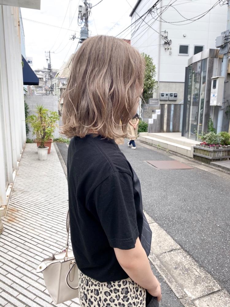 ⦅vicca'ekolu高松⦆⦅ミルクティベージュ×ブリーチ×1 or×2⦆、明治神宮前駅徒歩5分