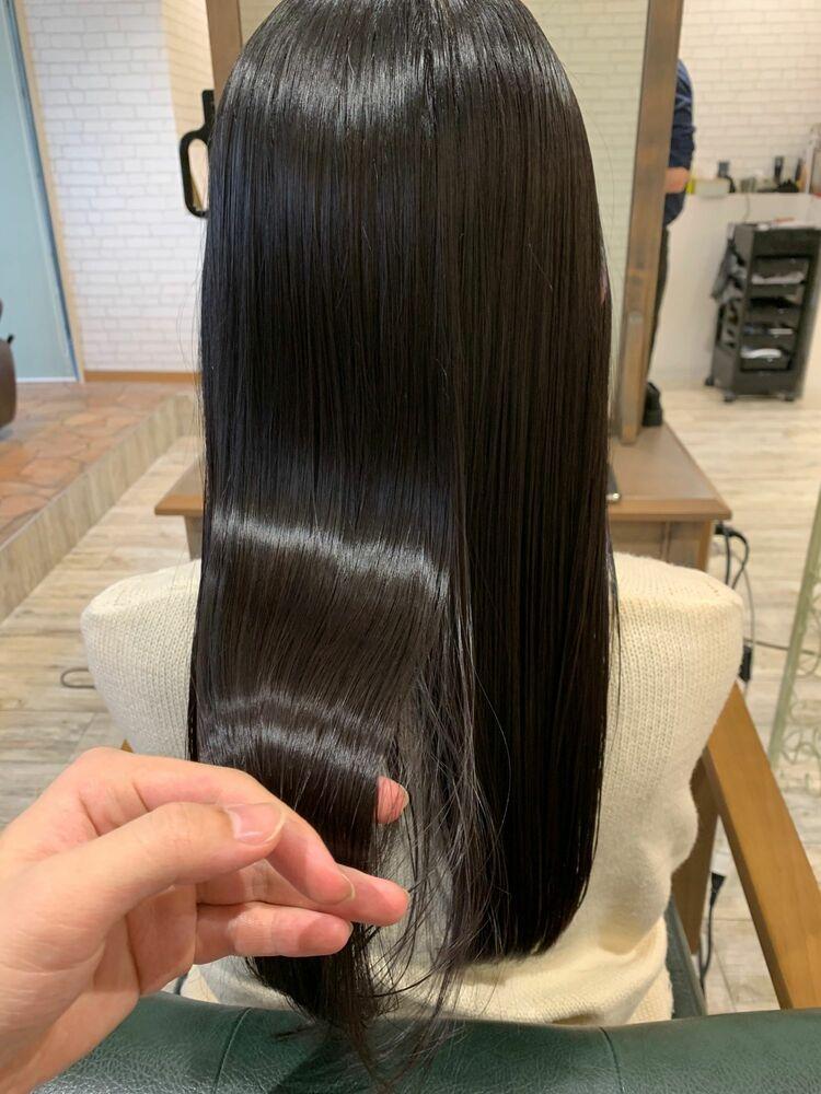 髪質改善×超音波トリートメント