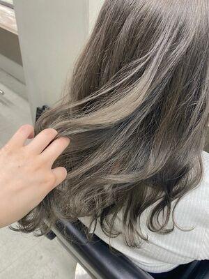 透明感グレージュ☆/instagram@mi060208