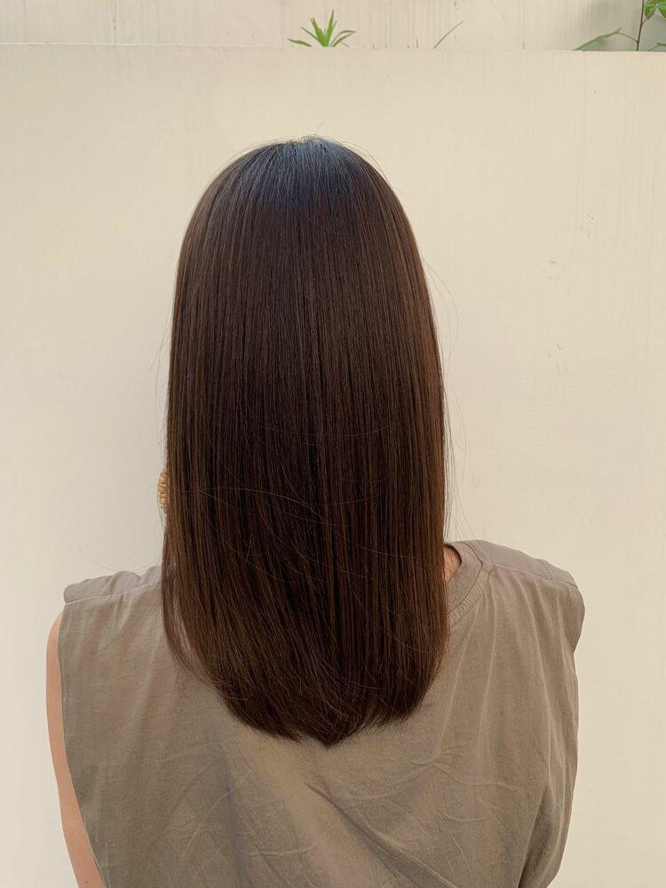 髪質改善トリートメントで感動させてみせます