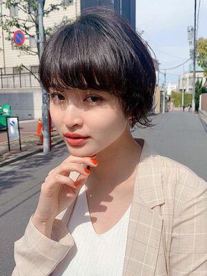 Unami 富永大樹 小顔ショート・大人可愛い