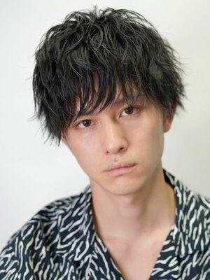 【SENSE渋谷】メンズニュアンスパーマ