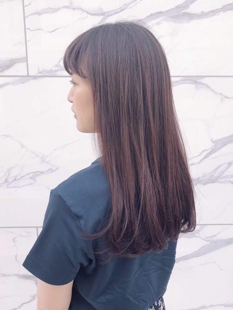 manoharuワダ ツヤ髪ピンクパープル