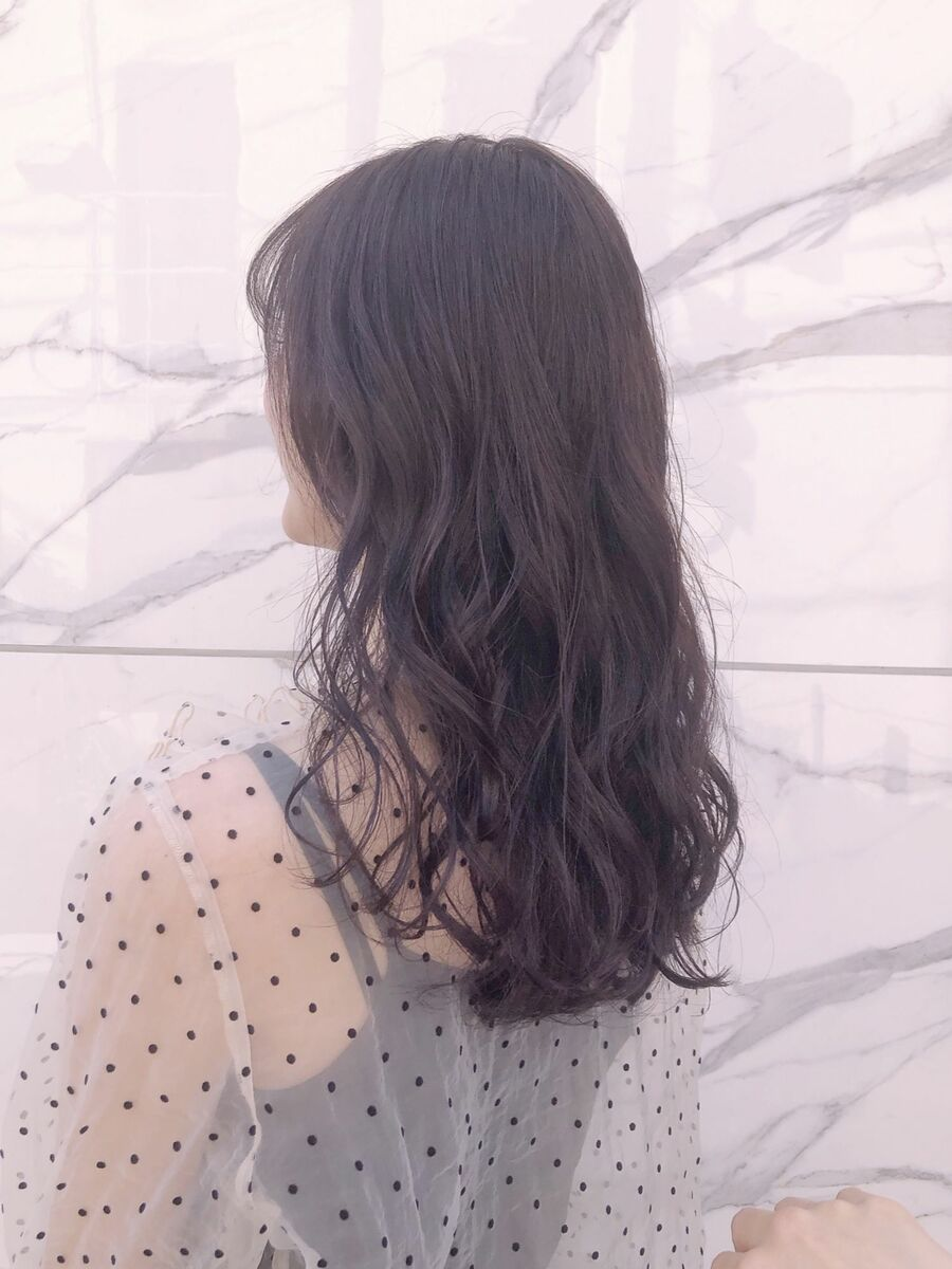 manoharuワダ 暗髪モテロング