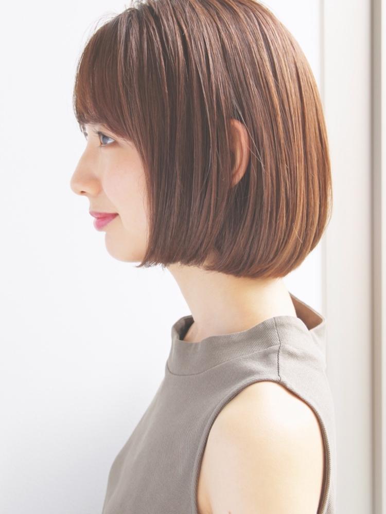 大人ひし形マニッシュショート☆美髪ヘアネイビーカラー