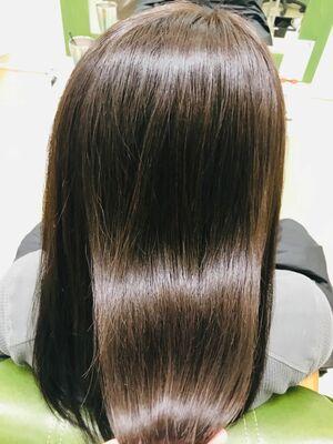 髪質改善ケアミノ1回目。