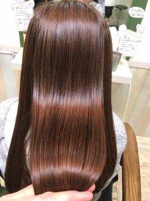 髪質改善ケアミノとカラー
