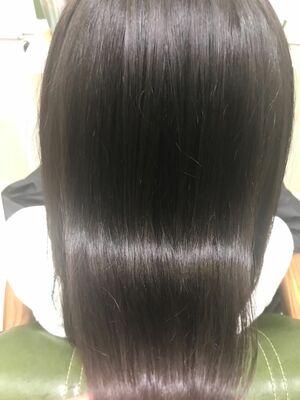 髪質改善ケアミノ2回目