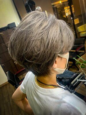 IG:Yuzo_kawasakiで検索♪耳かけアレンジショート💫