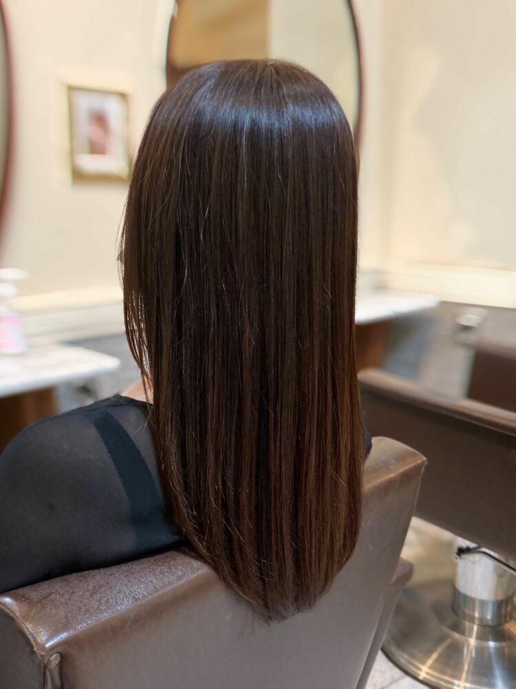 #イマヘア美髪改善 伸ばしかけヘア