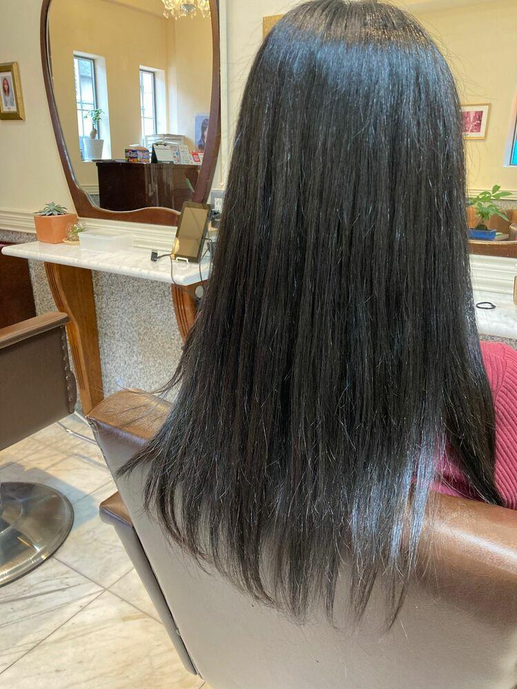 # イマヘア美髪改善 クイックバージョンしてみました