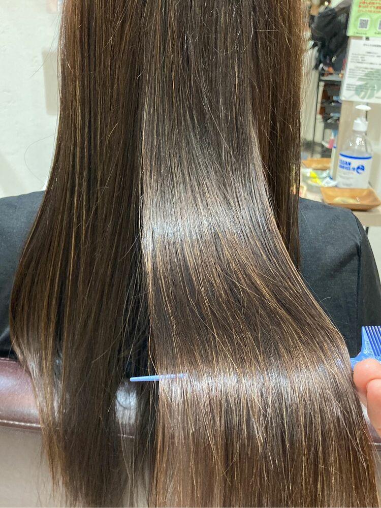 スーパーロングの美髪改善