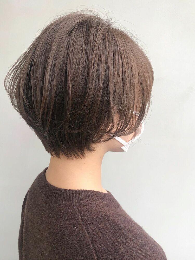 【Sourire 吉中真由美】ナチュラルショートボブ