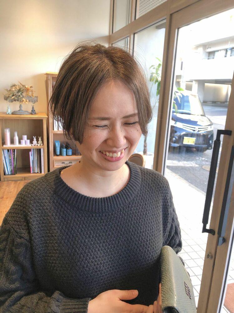 【Sourire 吉中真由美】大人ハンサムショート