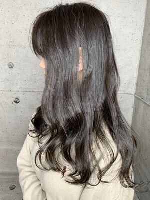 ブリーチなしで出来る暗髪でもかわいいダークショコラミルクティ🍁☃️暗いけど透明感と深みが🙆♂️
