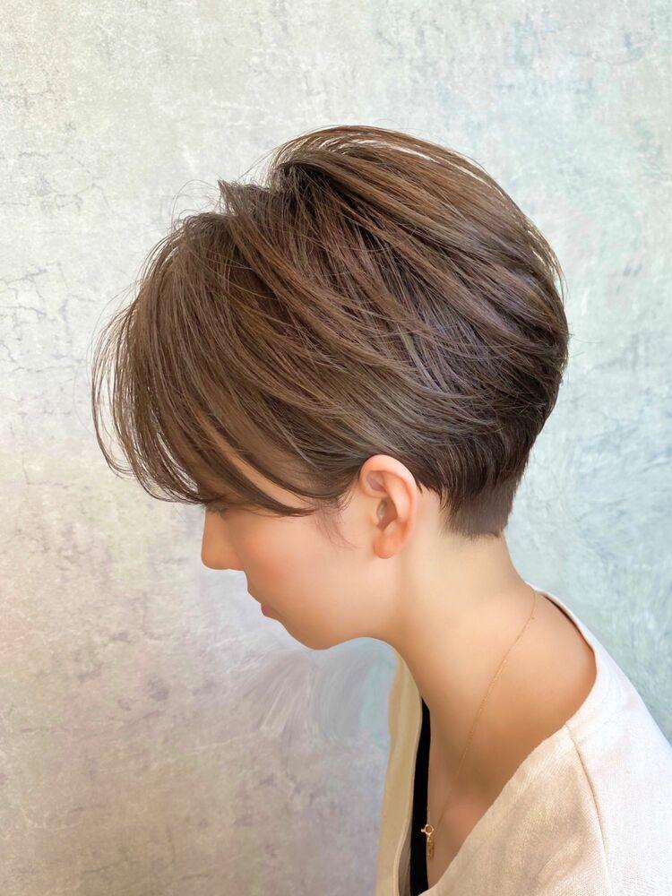 絶壁・軟らかい髪・ペタっとしやすい方にオススメのショートスタイル
