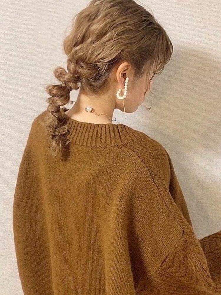 セルフアレンジで編みおろし☆