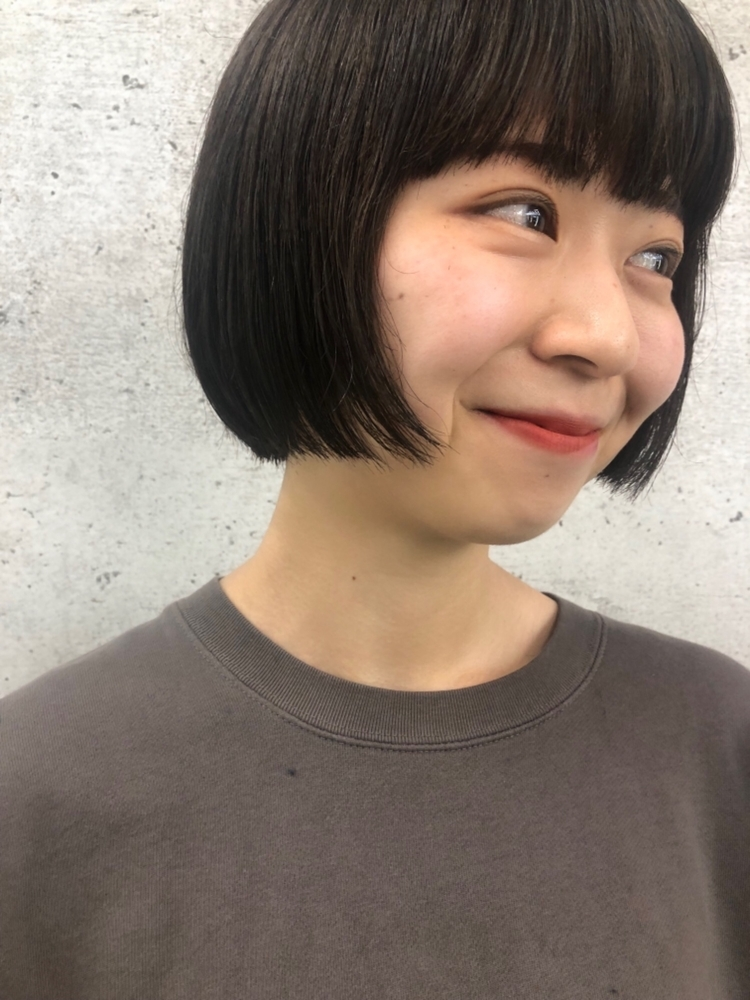 《iki AOI 表参道》すっきりお洒落ミニボブ