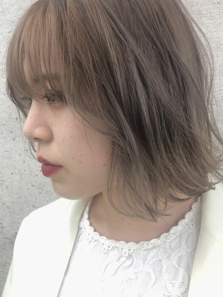 《 iki AOI  表参道 》透明感たっぷり シナモンベージュ
