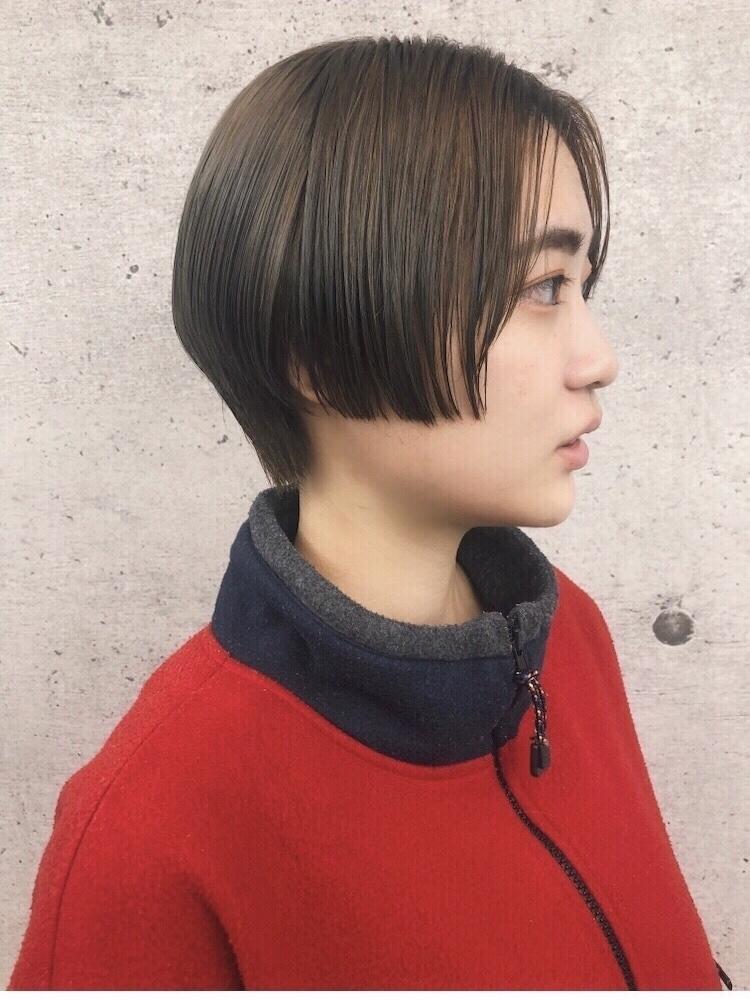 《 iki AOI 表参道 》モード感のあるタイトショートヘア