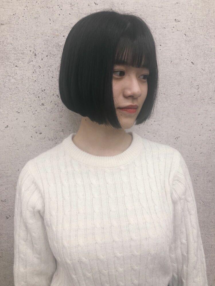 《 iki  AOI 表参道 》韓国風ぱつっとボブ