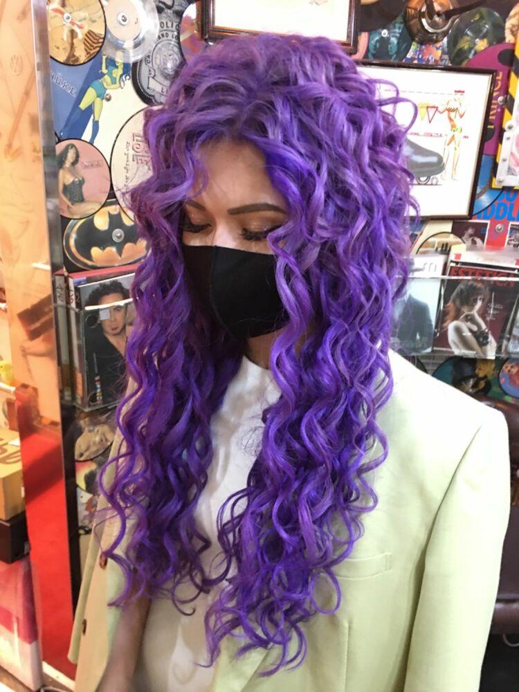 妖艶なパープルヘア☆