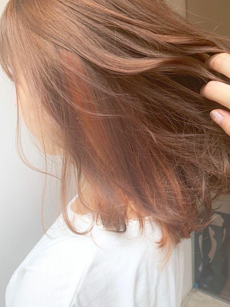 オレンジ好きのオレンジヘア