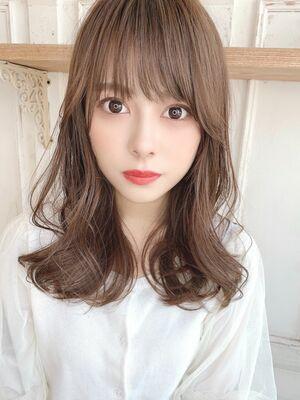 小顔韓国ヘア