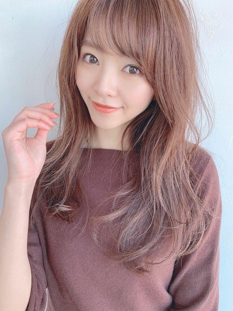 ブラウンカラーヘア 自由が丘アフロート早川Instagram@ryusuke_h