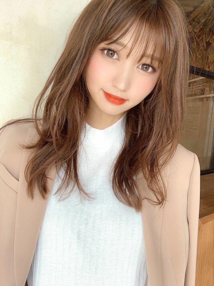 小顔に魅せるヘア 自由が丘アフロート早川Instagram@ryusuke_h