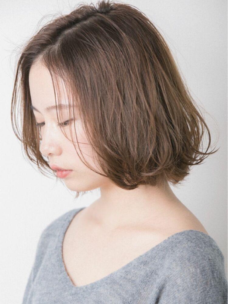 Euphoria Ginza 畑ニュアンスパーマでスタイリング簡単!ちょっぴり大人なボブスタイル