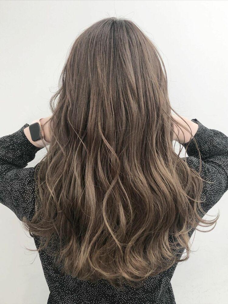 大人気の美髪カラー♪アッシュベージュ