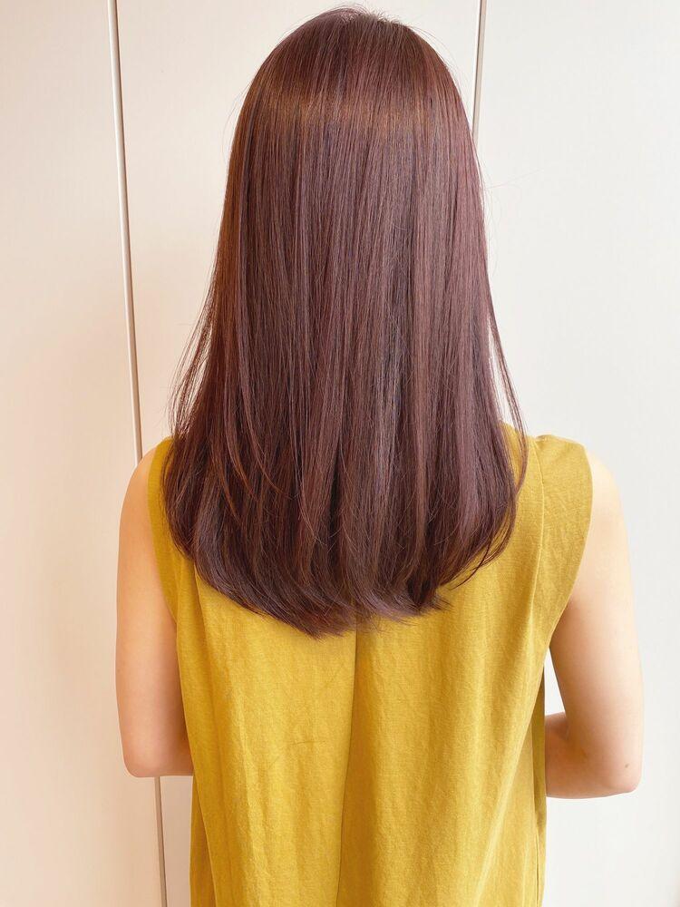 艶感たっぷりの美髪カラー『ディープピンクアッシュ』