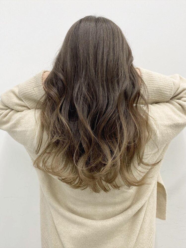 グレージュカラー♪Courbe 美髪カラー