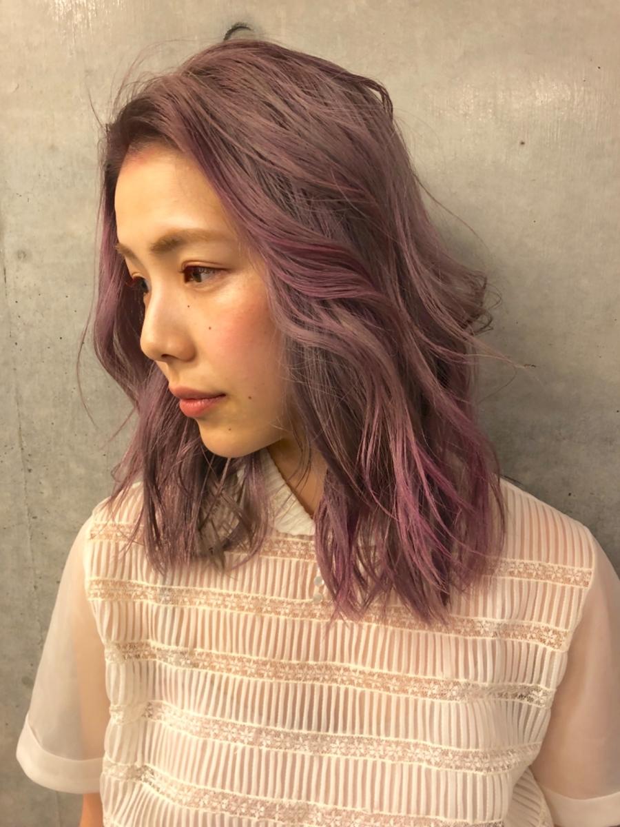『assort tokyo』イルミナカラー ブリーチカラー  ハイトーンカラー トレンドカラー