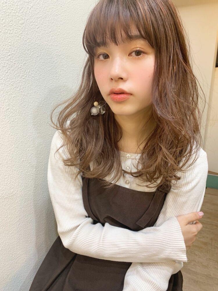 ハイライトグラデーションブランジュセミディ/自由が丘 afloat 6050円〜