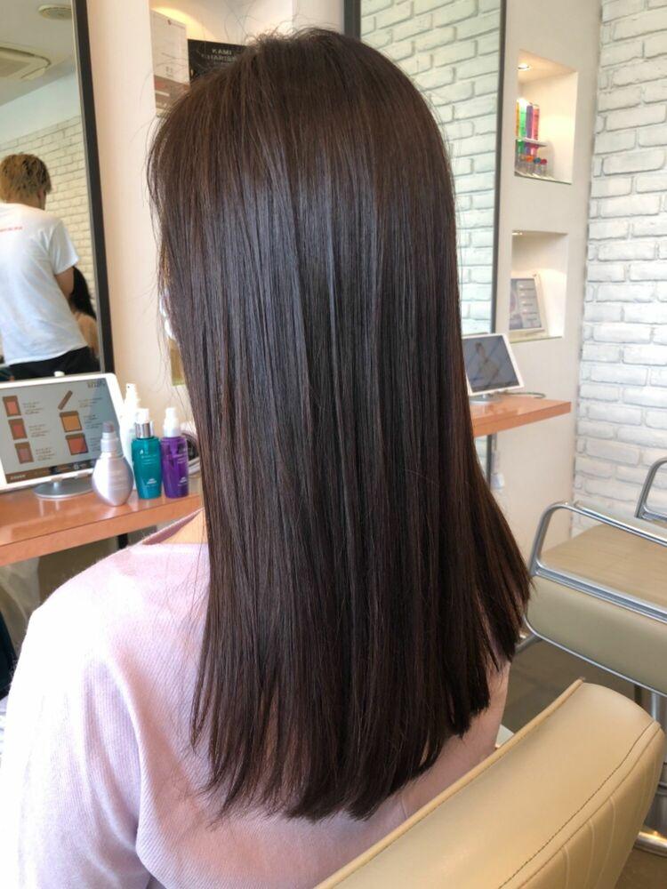 こんなに綺麗なヘアスタイルに薬剤設定で周りの人に差をつけるヘアスタイル