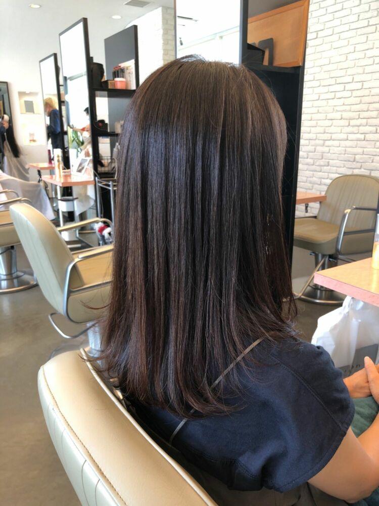髪質改善で毎日乾かすだけで決まるサラサラストレート