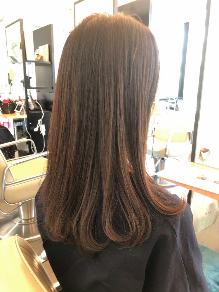 40代でも美ロングに髪質改善ストレートパーマで大人ロングを楽しもう!