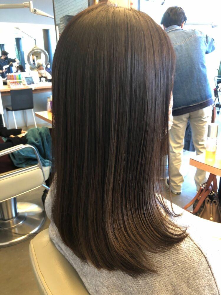 40代でもこんなに綺麗なヘアスタイルに薬剤設定で周りの人に差をつけるヘアスタイル