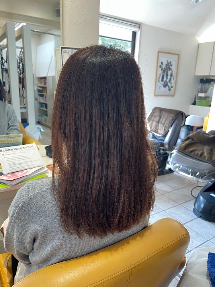 髪質改善☆酸熱トリートメント仙台南中山美容室10代20代30代40代