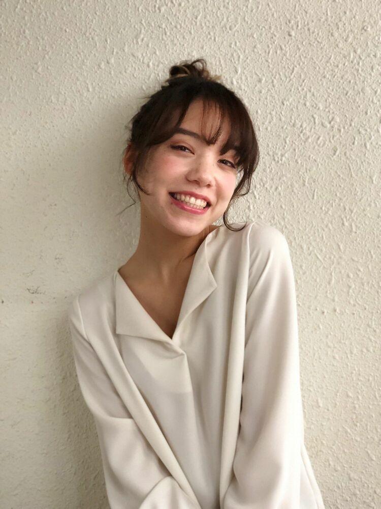 Lond fille 佐々木☆シンプルアレンジお団子ナチュラルヘア