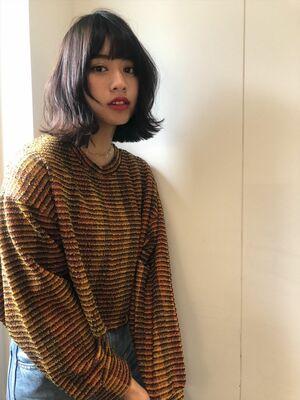 Lond fille 佐々木☆外ハネミディ