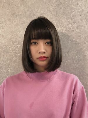 Lond fille 佐々木☆重めワンカールボブ