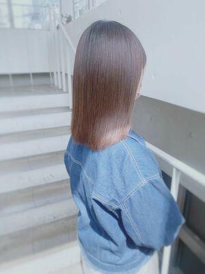 【ツヤ感&透明感◎】髪質改善トリートメントで憧れの美髪へ♪カラーとの相性も◎