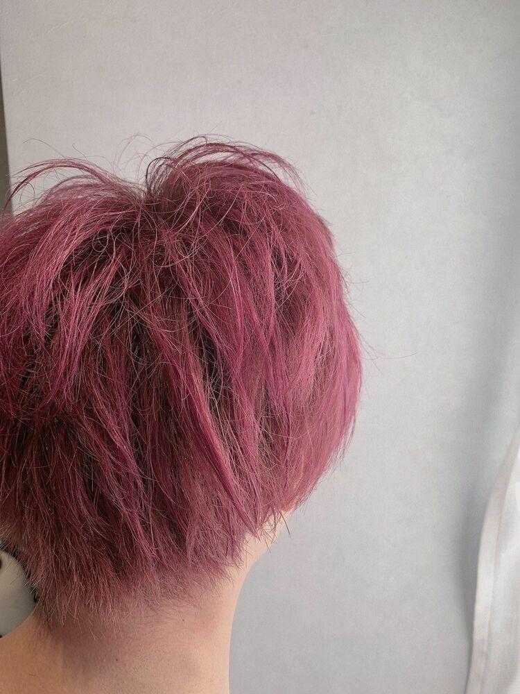 メンズのピンクカラーも人気です❤︎♯韓国風#グレージュ#ベージュ#オリーブ#アッシュ#ピンク